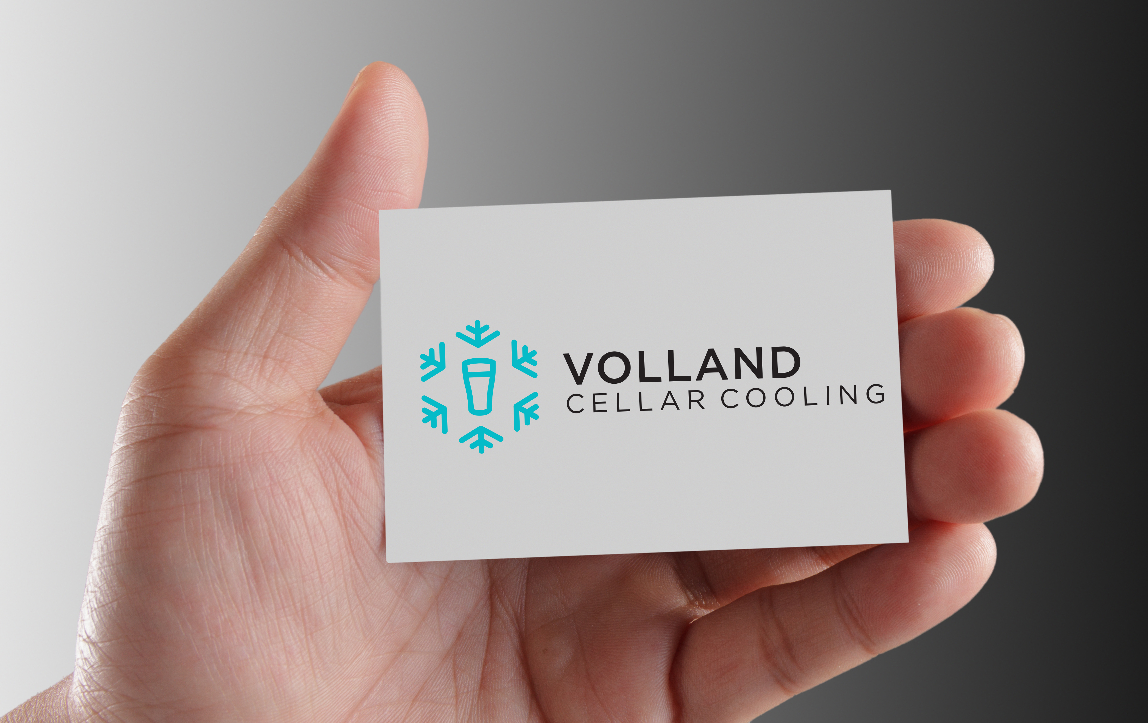 VOLLAND Cellar Cooling Business Card